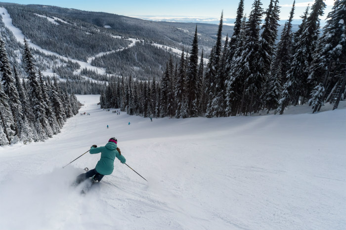 the 5 best times to ski at sun peaks bc this season. Black Bedroom Furniture Sets. Home Design Ideas