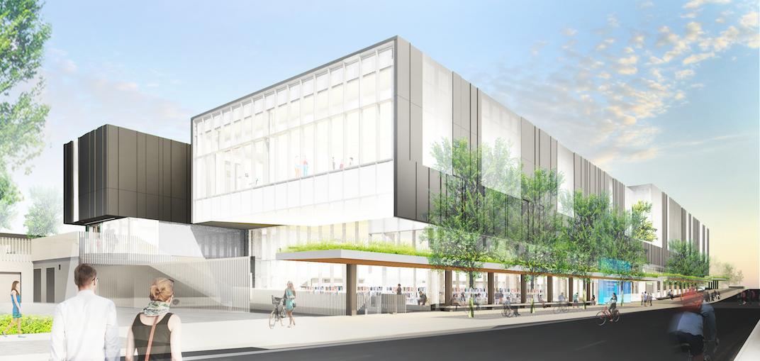 Artistic rendering of Bessarion Community Centre Toronto
