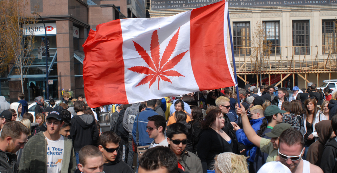 Canada officially becomes 2nd country in the world to legalize cannabis