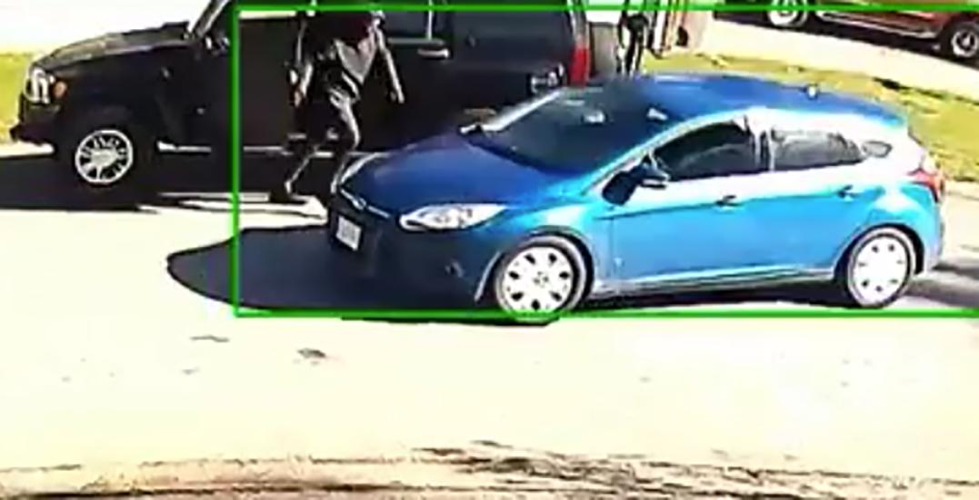 Police release surveillance footage following brazen shooting in Surrey