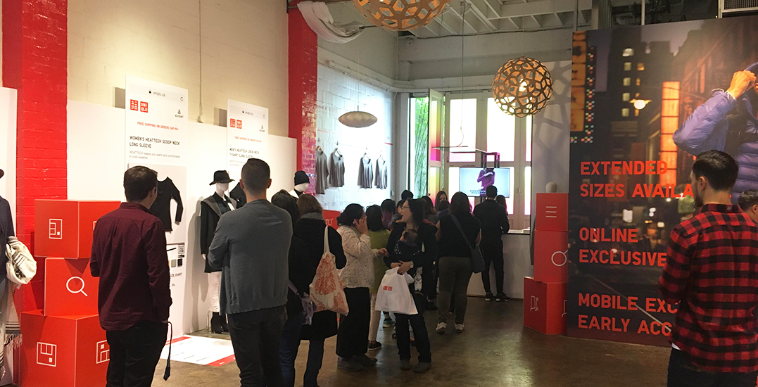 This is your first look at Uniqlo's new Yaletown pop-up (PHOTOS)