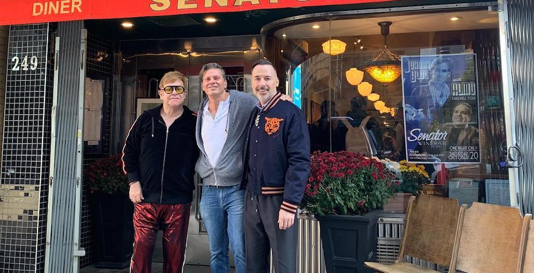 Elton John says this Toronto diner has the best burger in the world