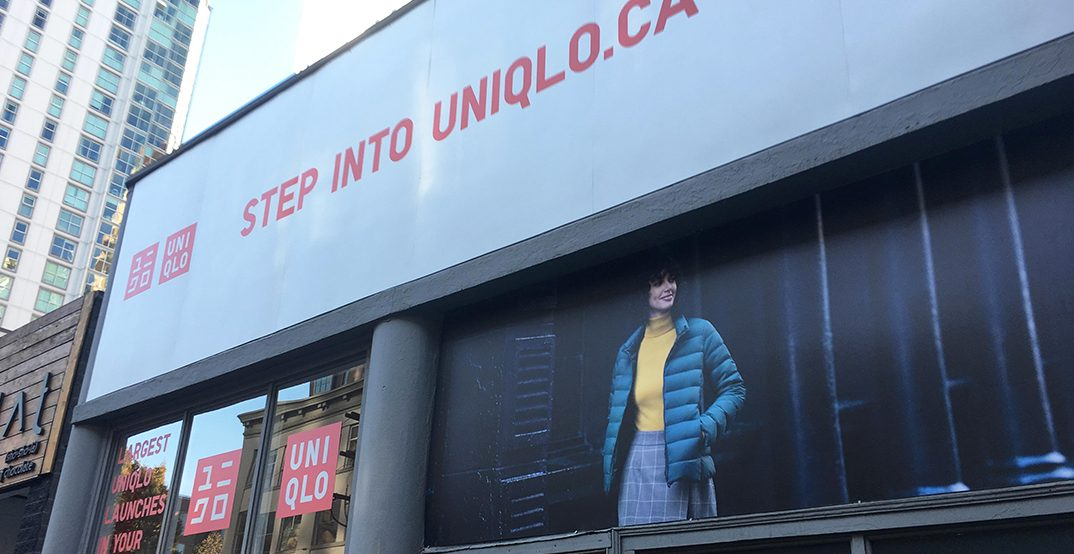 UNIQLO launching limited-time pop-up in downtown Toronto