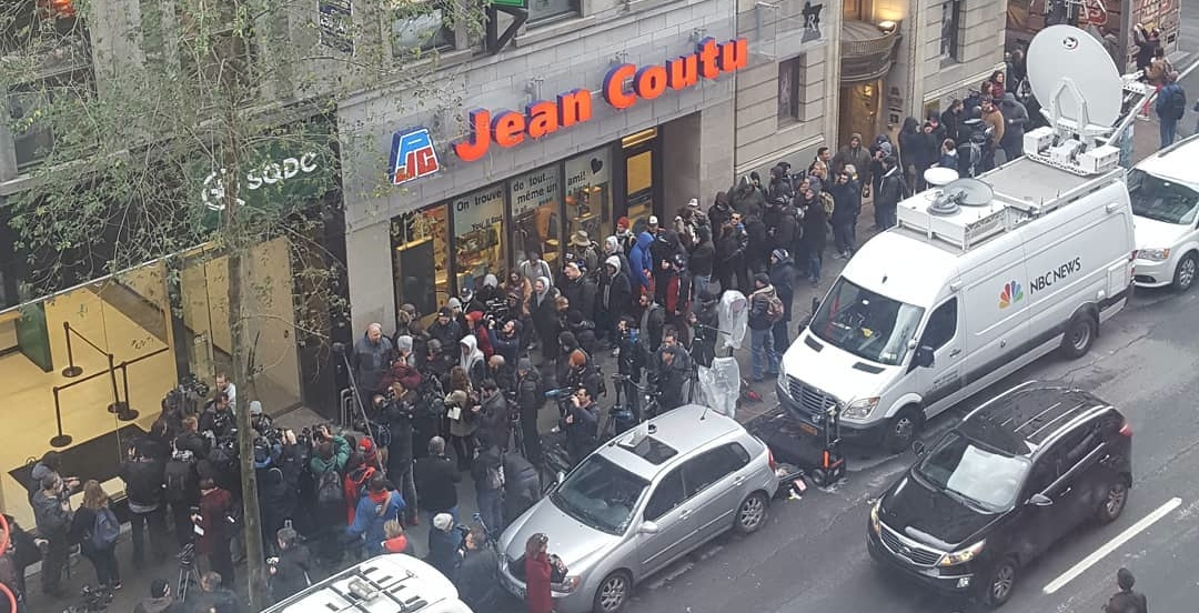 Downtown Montreal's cannabis store attracts huge lines for legalization day (VIDEOS)