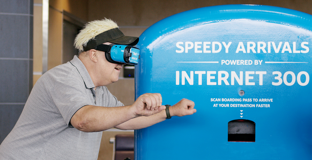Shaw just used their fastest internet to send travellers on a VR-cation