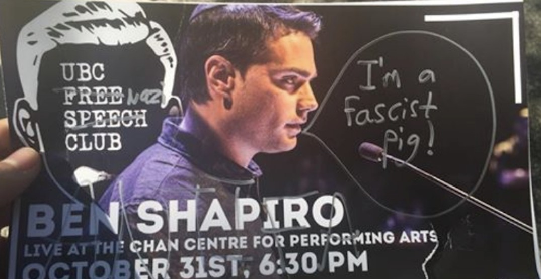 Protests expected at UBC talk by American right-wing speaker Ben Shapiro