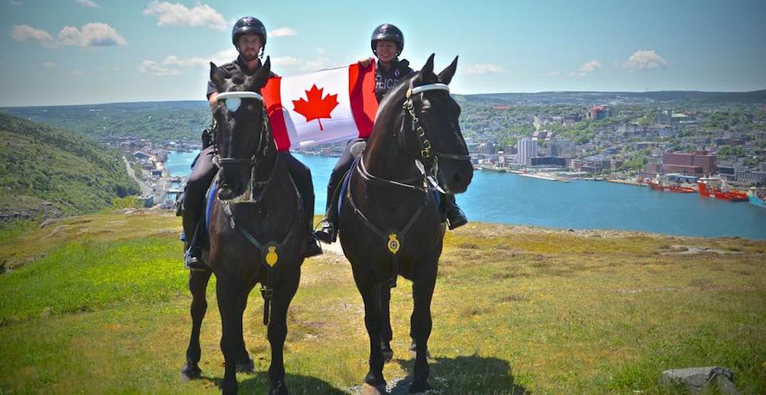 This provincial police service's message on eve of legalization is SO Canadian