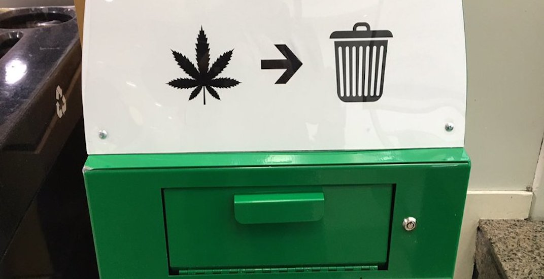 This Canadian airport installed cannabis disposal bins for forgetful travellers