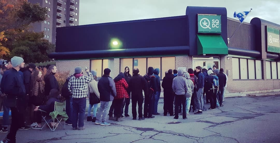 The SQDC releases sales numbers from first day of cannabis legalization