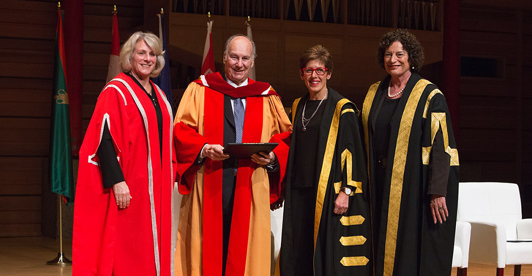 University of Calgary gives 'living legend' the Aga Khan honorary degree (PHOTOS)