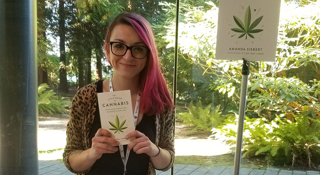 Award-winning Vancouver journalist wrote the (pocket-sized) book on cannabis