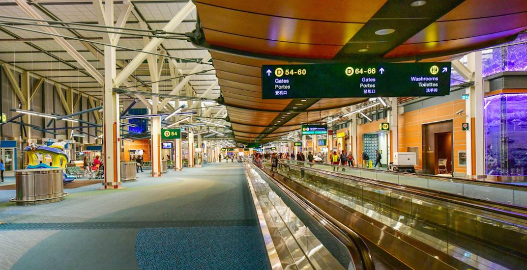 Vancouver international airport yvr terminal