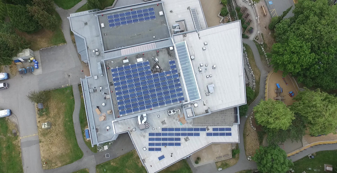 This solar farm atop a community centre helps power New Westminster