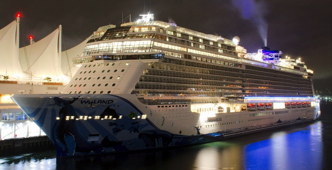 Norwegian bliss vancouver canada place cruise ship