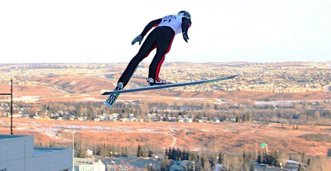 Athletes will be flying high at the Canadian ski jump championships tomorrow