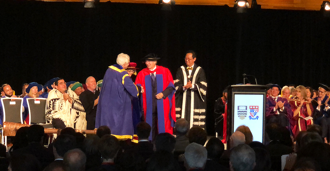 UBC and SFU make history conferring Aga Khan with honorary degrees in joint ceremony (PHOTOS)