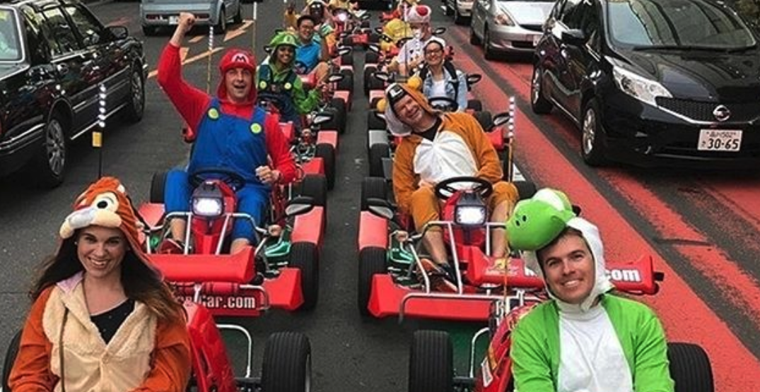 A Mario Kart-themed race track is coming to Vancouver this winter