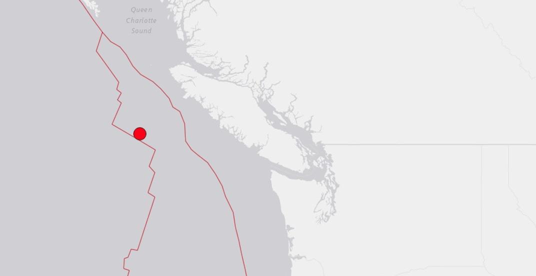 Magnitude 6.6 earthquake strikes Vancouver Island coast