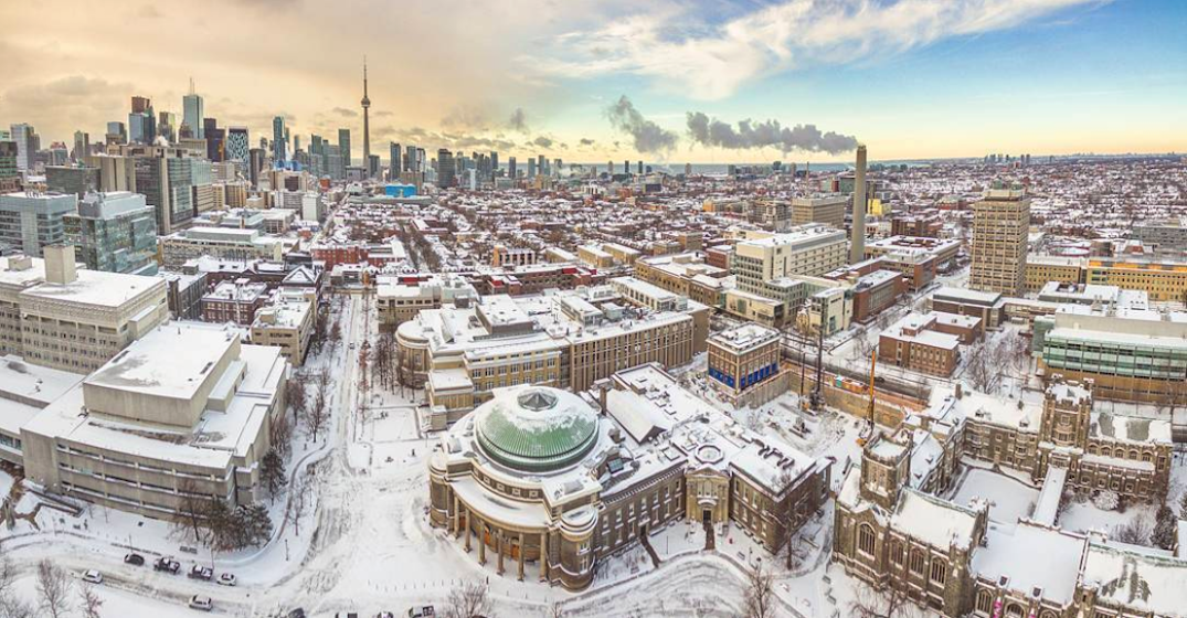 Toronto could see its first snow flurries as early as tomorrow night