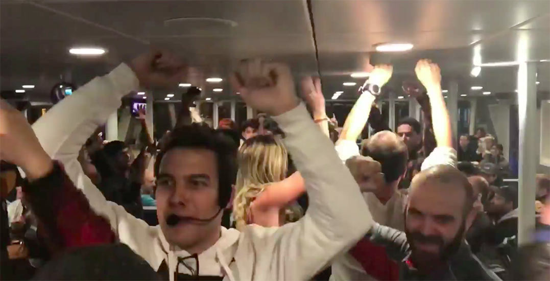 The SeaBus turned into a huge dance party on the weekend (VIDEO)
