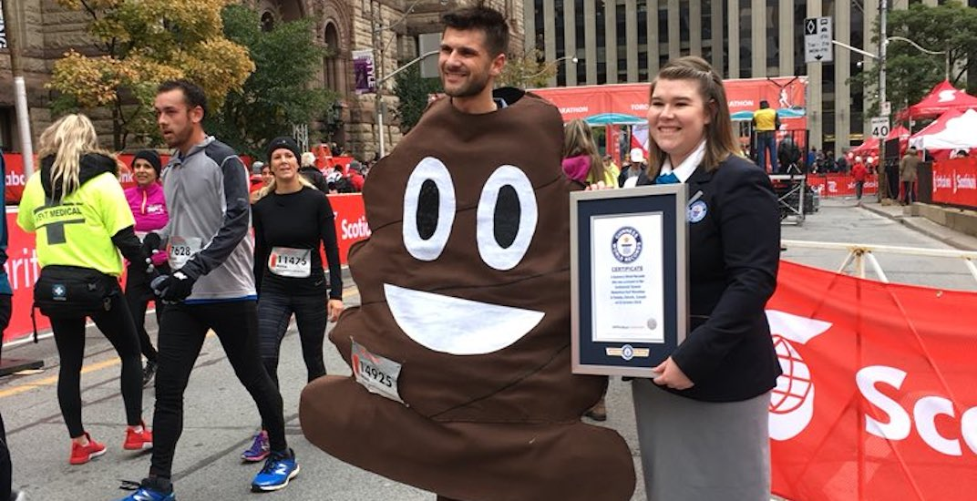 13 hilarious Guinness World Records records set at 2018 Toronto Waterfront Marathon