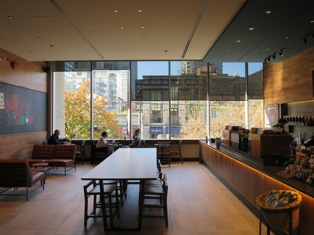 Indigo Vancouver flagship 1033 Robson Street