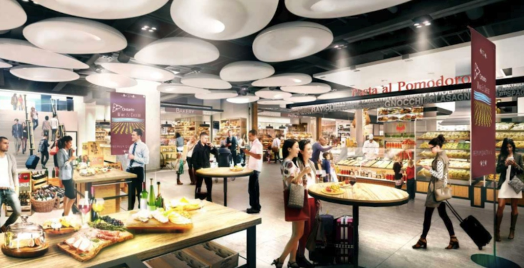 Union Station's new expansive food court opens next month