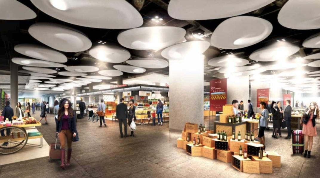 Toronto Union Station food court food hall
