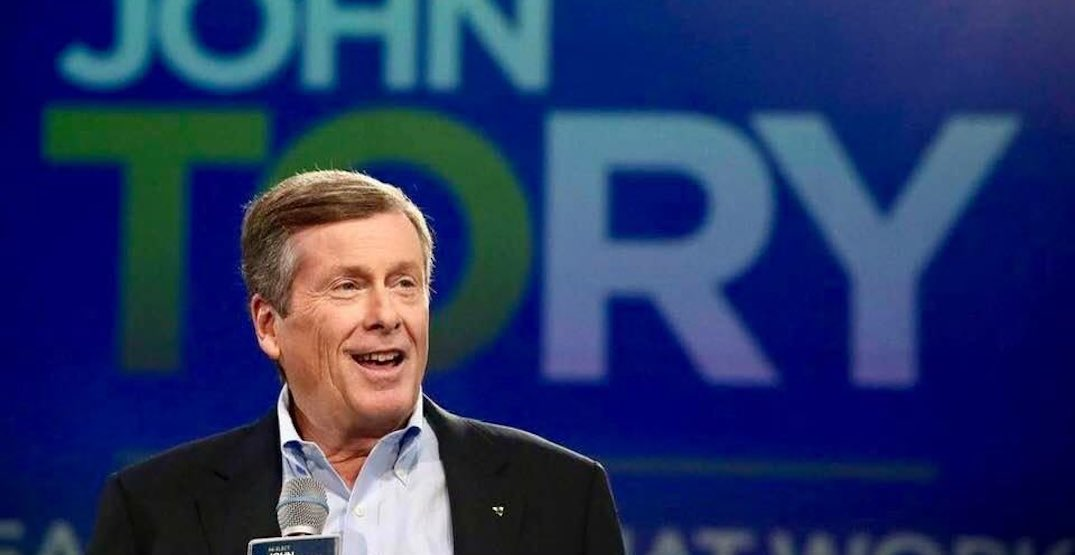 Mayor John Tory will be a keynote speaker at SXSW this year