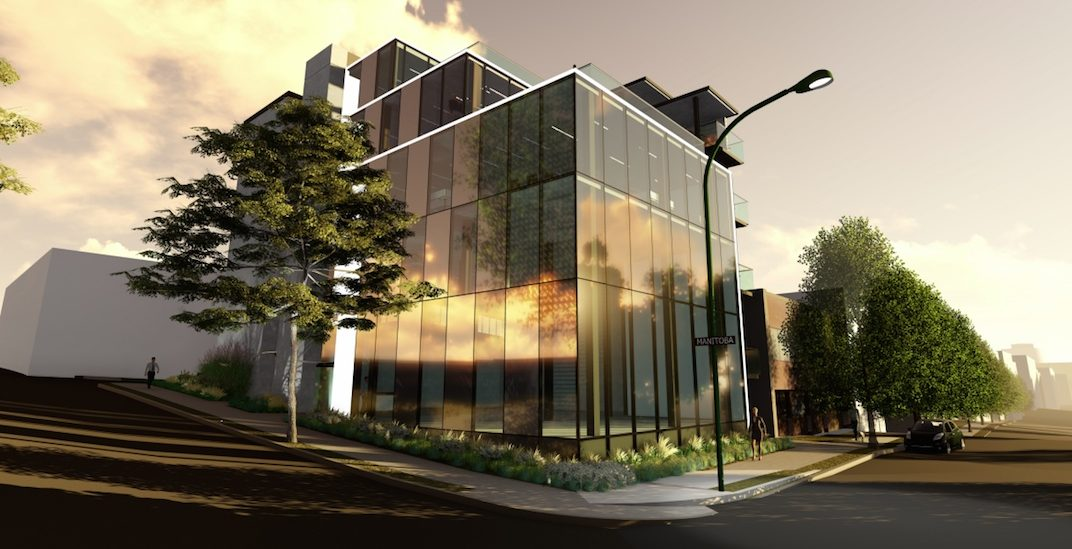 Glass box industrial and office building proposed for Mount Pleasant