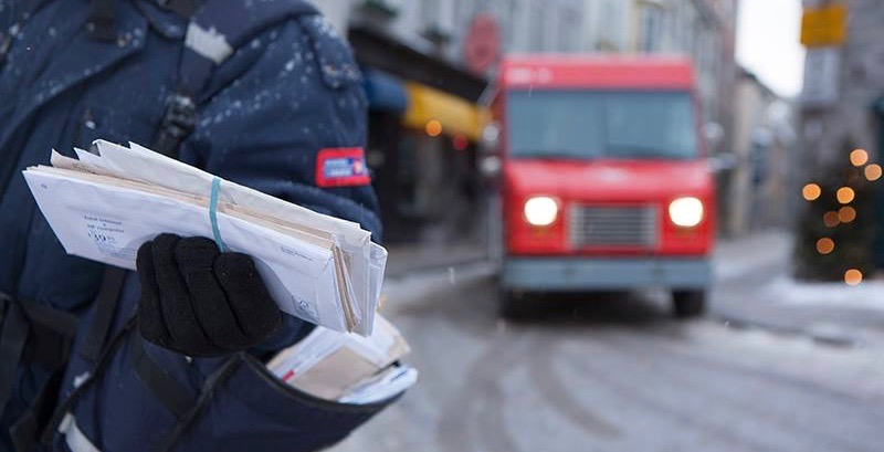 Canada Post union workers on strike in Toronto