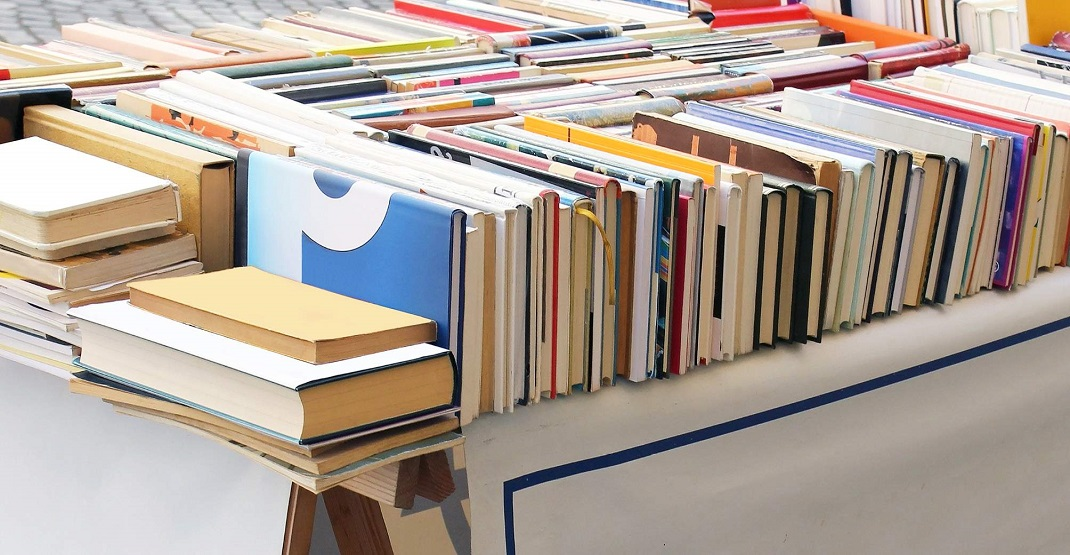 You won't believe the prices at the Vancouver Library's annual book sale