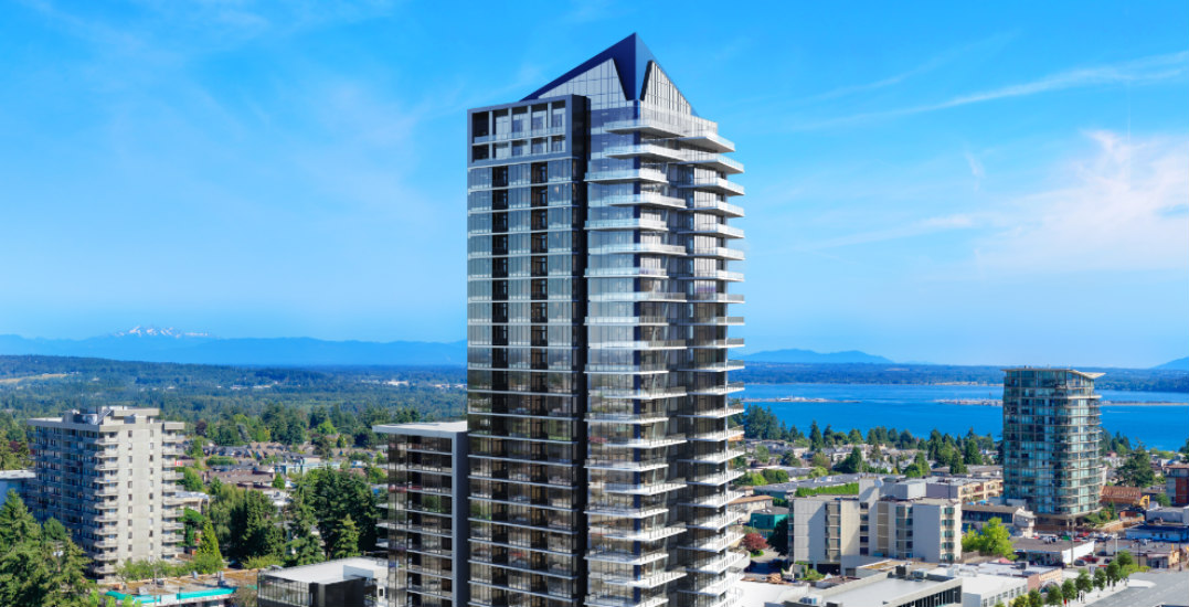 This development offers the best ocean-view value in the Lower Mainland