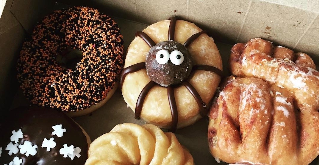 Tim Hortons just revealed a timbit-topped doughnut and it's everything