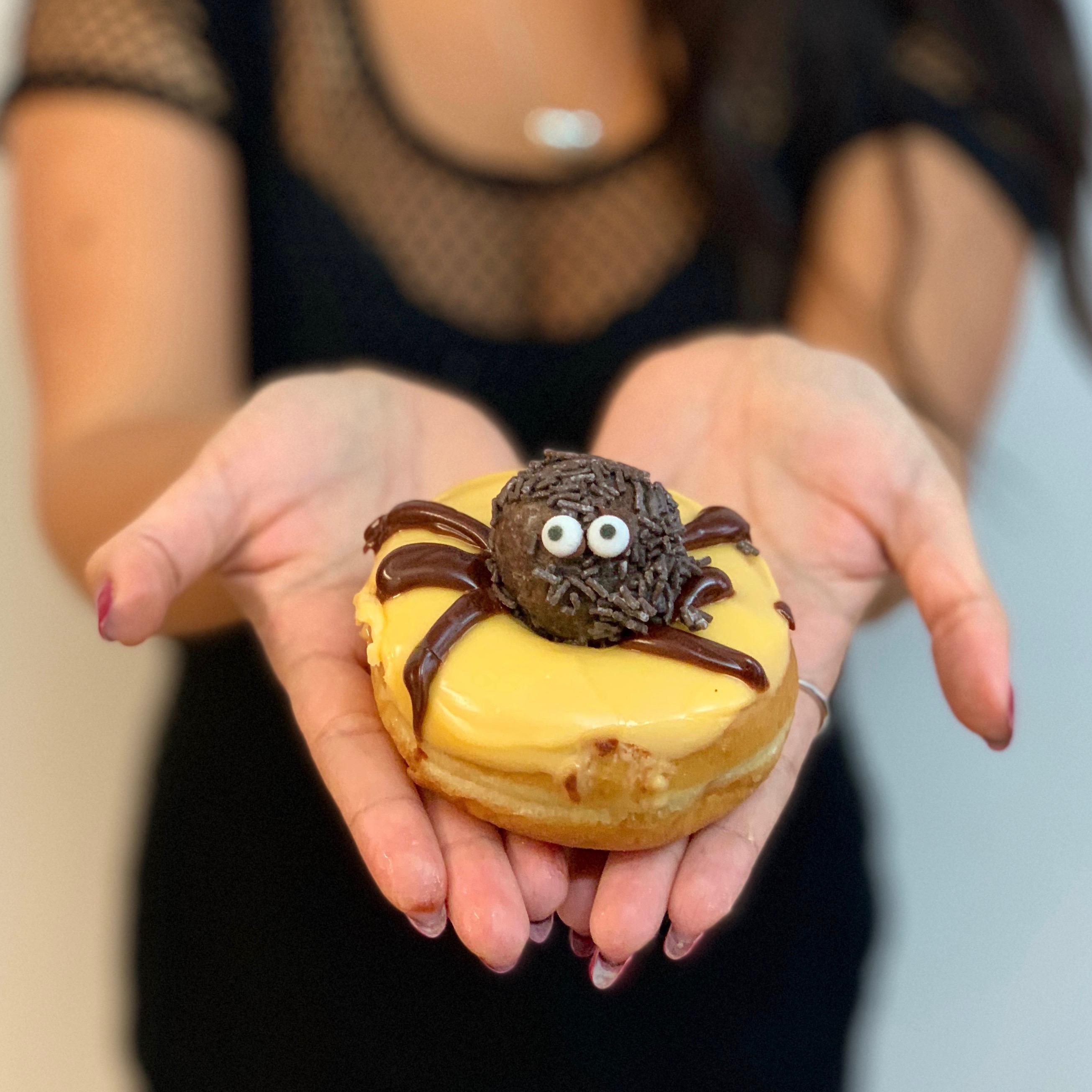 Spooky Spider Doughnut