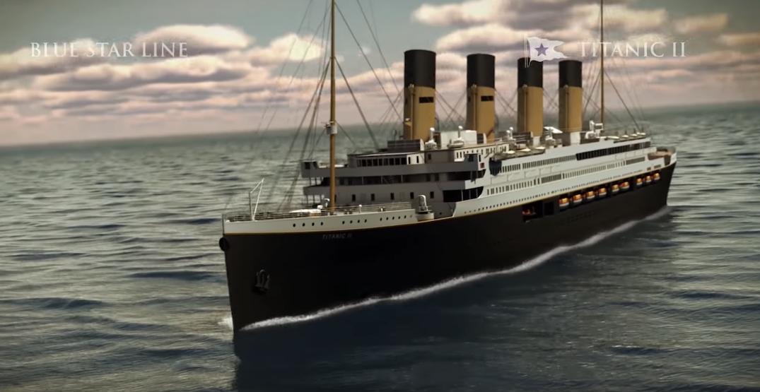 The Internet reacts to the new expedition of Titanic II