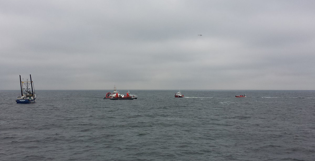 Boat full of whale watchers rescued after vessel catches fire
