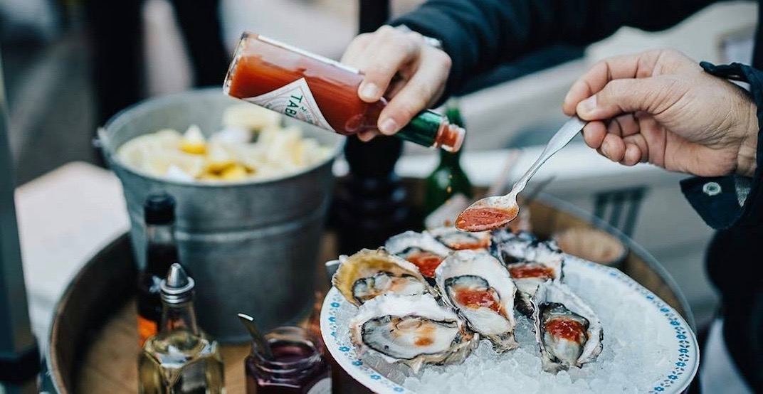 There's an epic seafood cask party happening in Vancouver next month