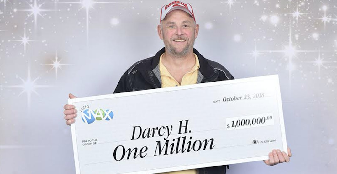 BC man had winning $1 million lotto ticket in his wallet for 3 months