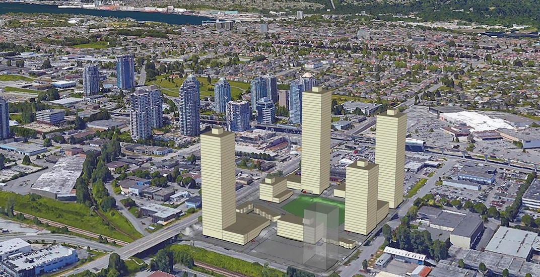 Nearly 1,500 homes proposed for industrial site in Burnaby's Brentwood area