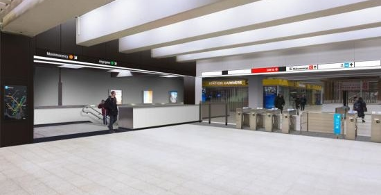 This is what the newly renovated Berri-UQAM station will look like (RENDERINGS)