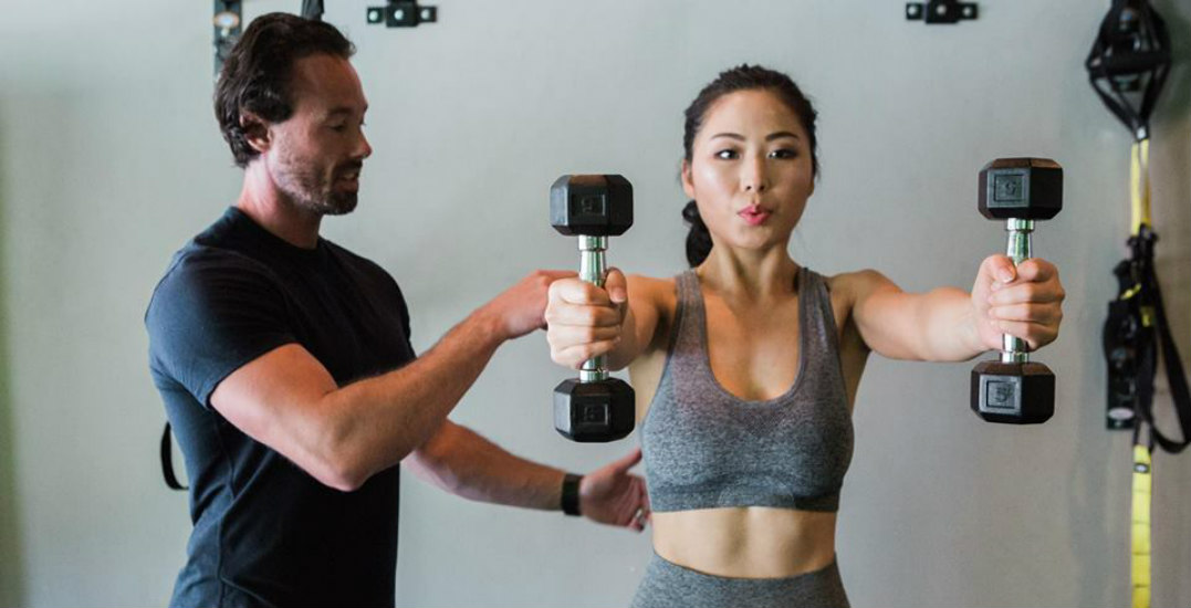 You can get a personal training session for $33.13 (and 100% goes to charity)
