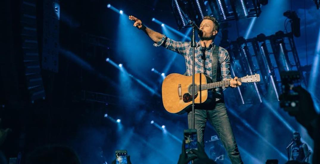 Dierks Bentley is coming to Vancouver for a concert this winter