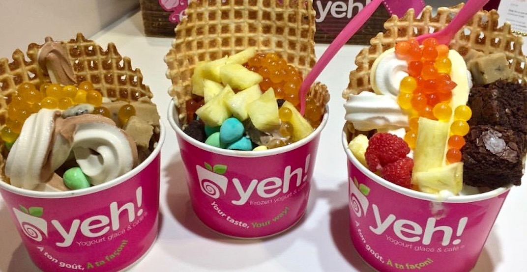 Canada's first self-serve frozen yogurt concept closes only BC location