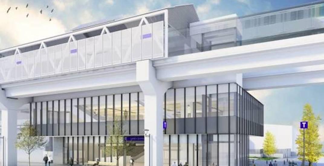 Skytrain surrey central station renovations f3