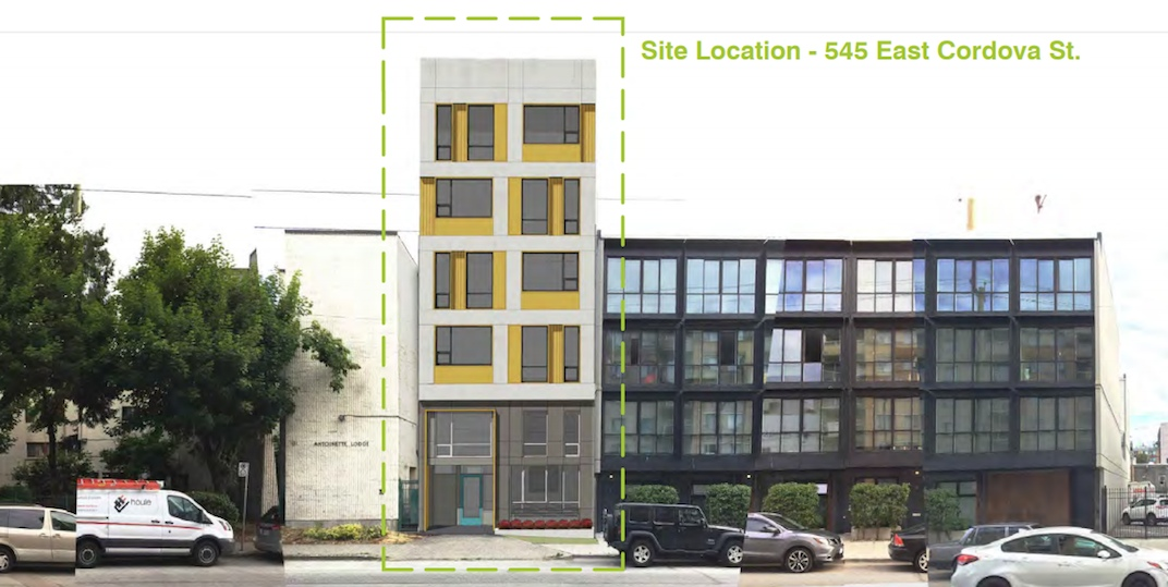 545 East Cordova Street Vancouver