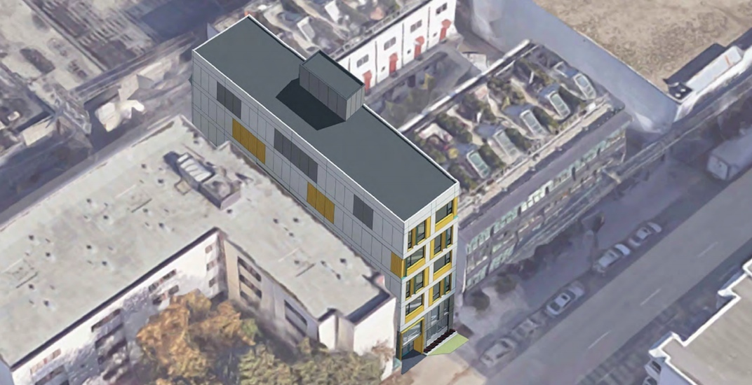 Super-skinny social housing building slated for Downtown Eastside