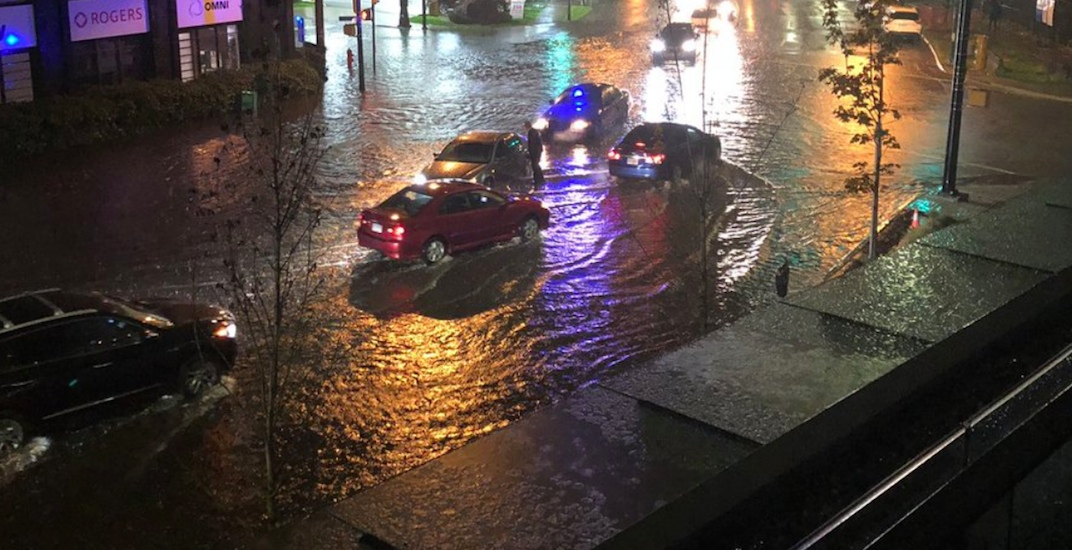 Vancouver flooding october 28 2018 1