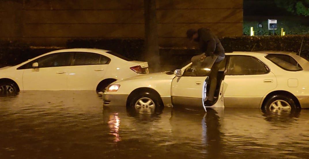 Vancouver flooding