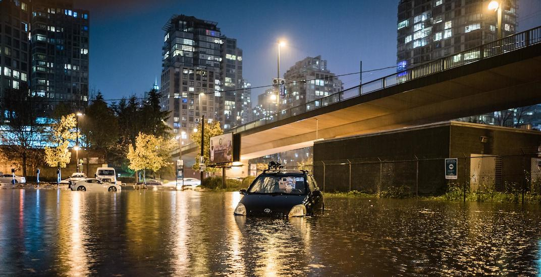 City receives 128 calls about overnight flooding in Vancouver